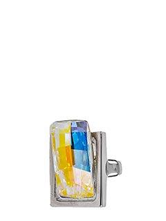 Maison Margiela-Anello in ottone argento