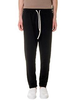 DonVich-Pantaloni Nik in cotone nero