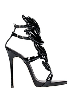 Giuseppe Zanotti-coline 110 black leather sandals