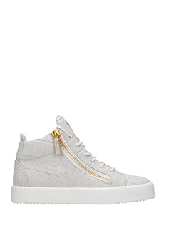 Giuseppe Zanotti-Kriss beige leather sneakers