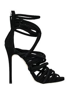 Giuseppe Zanotti-alien 115 black suede sandals
