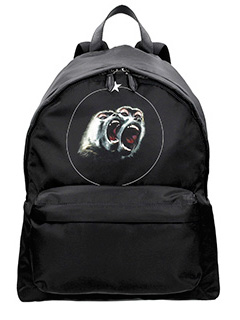 Givenchy-Monkey Brothers black Tech/synthetic backpack