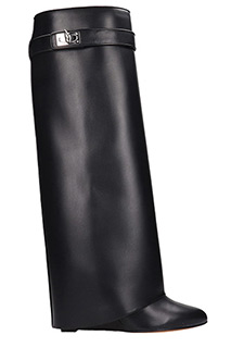 Givenchy-Stivali Pant Boot in pelle nera