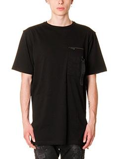 Marcelo Burlon-T-Shirt in cotone nero