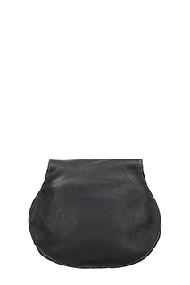 Chloé MARCIE SADDLE BAG IN BLACK GRAIN CALFSKIN 4