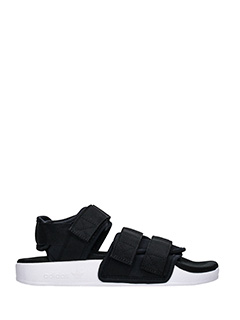Adidas-adilette sandal black Tech/synthetic flats