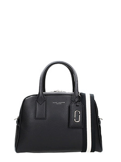 Marc Jacobs-Borsa Gotham City in pelle nera