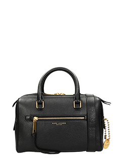 Marc Jacobs-Borsa Recruit Bauletto in pelle nera