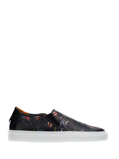 Givenchy-Sneakers  Street Skate in pelle nera