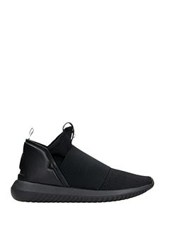 Adidas-Tubular Defiant black Tech/synthetic sneakers