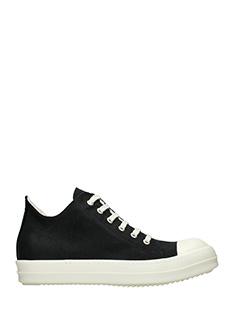 Rick Owens DRKSHDW-Sneakers Low Sneakers in tessuto tecnico nero