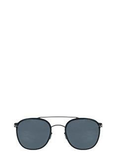 Mykita-Occhiali da sole  Keaton in acciaio ed acetato blue