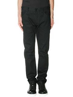 Valentino-black denim jeans
