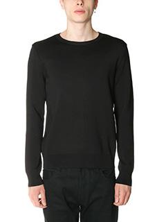 Valentino-Maglia in lana nera