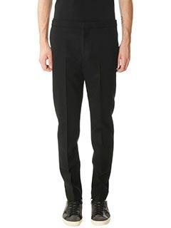 Golden Goose Deluxe Brand-Pantaloni Kester in lana nera