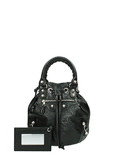 Balenciaga-giant 12 m.po black leather bag