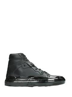 Balenciaga-Sneakers Classic in pelle e vernice nera