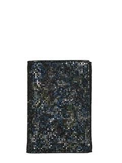Maison Margiela-multicolor suede wallet