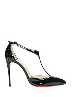 Christian Louboutin-J.string black leather sandals