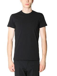 Jil Sander-T-Shirt in jersey nero