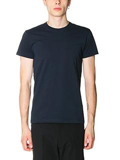 Jil Sander-T-Shirt in jersey blue