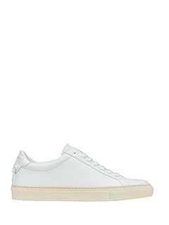 Givenchy-Sneakers Low Urban Street in pelle bianca