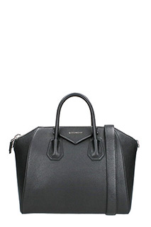 Givenchy-Borsa Antigona Media in pelle nera