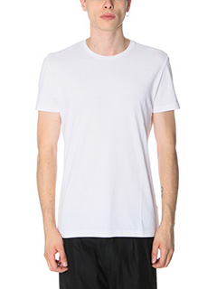 Low Brand-T-Shirt B 1 in cotone bianco