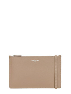 Lancaster-Pochette Element in pelle beige