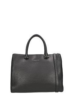 Lancaster-black leather bag