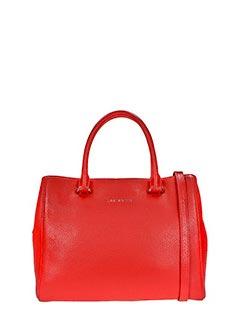 Lancaster-red leather bag