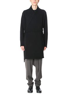 Damir Doma-Cappotto Chopin in lana nera