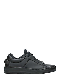 Thoms Nicoll-black rubber/plasic sneakers