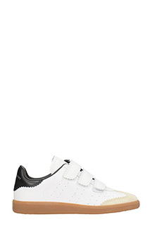 Isabel Marant-Beth white leather sneakers