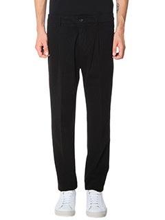 Low Brand-Pantaloni T 2 0 Armas in cotone nero
