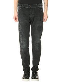 Low Brand-black denim jeans
