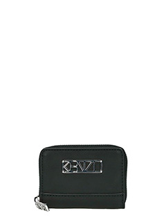 Kenzo-Kalifornia  black rubber/plasic wallet