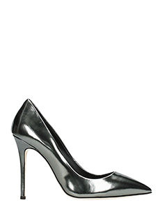 Giuseppe Zanotti-Lucrezia 105  grey leather pumps