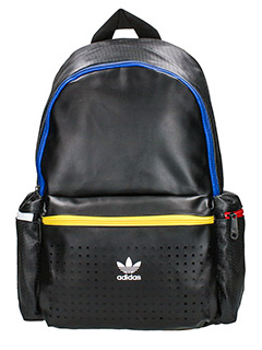 Adidas-Zaino 3 Pocket Bp  in tessuto e nylon nero