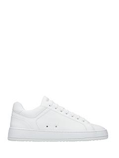 Etq .-Sneakers Low 4  in pelle bianca