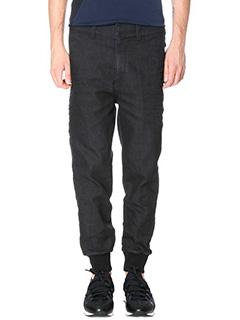 Neil Barrett-Jeans in cotone nero