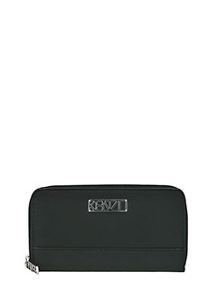 Kenzo-Kalifornia wall black rubber/plasic wallet