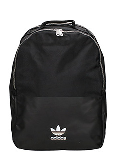 Adidas-Bp xl acfashion black canvas backpack