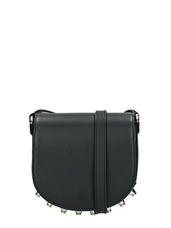 Alexander Wang-Mini Lia black leather bag