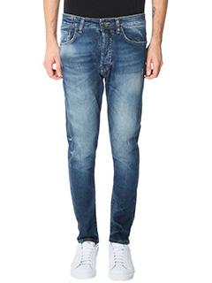 Low Brand-blue denim jeans