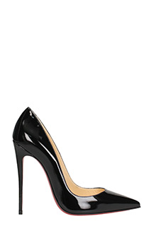 Christian Louboutin-Decollet� So Kate 120 in vernice nera