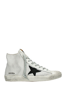 Golden Goose Deluxe Brand-Sneakers Francy in canvas corda