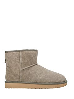 Ugg-Stivali Mini Classic in serein grey