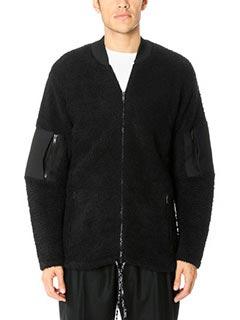 Maison Margiela-Cardigan in lana nera
