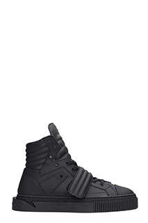 Gienchi-Sneakers Hypnos in pelle nera